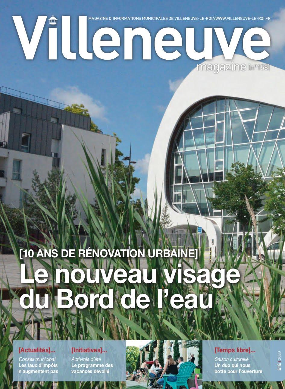 Villeneuve magazine n°158